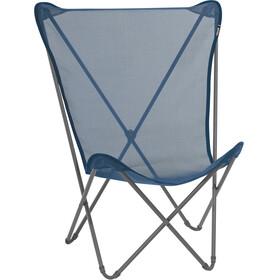 Lafuma Mobilier Maxi Pop Up Camp Stool Batyline grey/blue